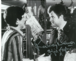 Brigit Forsyth & Rodney Bewes THE LIKELY LADS - Genuine Signed Autograph 10x8 COA  10182